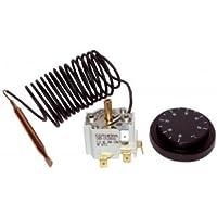 Termostato acqua regolatore a bulbo e capillare - Tipo GTLH3 cap 2 30-90deg con set fissaggio