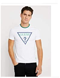 78a9c49cacb3 Guess Uomo Club Tee - T-Shirt con Stampa TG M