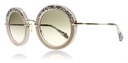 Miu Miu Unisex Sonnenbrille MU08RS, Beige (Beige UE23D0), One size (Herstellergröße: 49) (Miu Beige Sonnenbrille Miu)