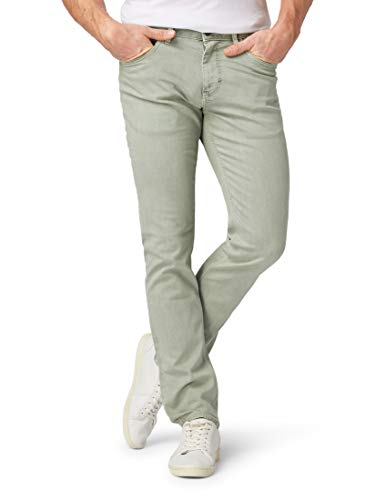 TOM TAILOR für Männer Jeanshosen Josh Regular Slim Jeans Green Mist, 36/34 -