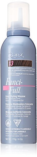 Roux Fanci-Full Temporary Hair Color Mousse - #13 - Choco Kiss 175 ml by Roux -