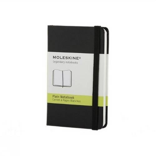Moleskine Plain Notebook Black Extra Small