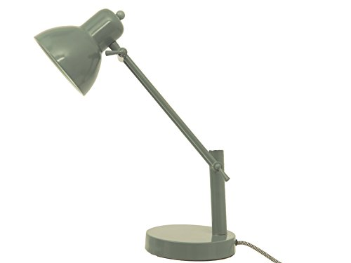 Leitmotiv LM1153 Lampe de Table Office Acier Vert