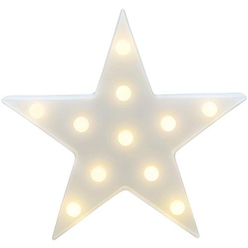 Wefond Decorativo LED Luz Tropical Lámpara de escritorio Marquee Sign Luz de...