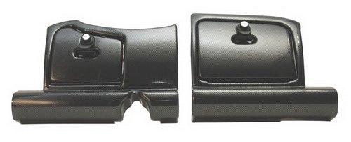 ez-go RXV Golf Cart Dash (2pc) W/2arretierbare Türen–Carbon W/Faser Türen