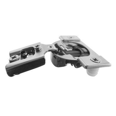 Pro Pack of 100Pcs, Compact Blumotion 38N (New Bmn) Hinge & Plate, For 1/2 Overlay, Wraparound, Screw-On by handyct