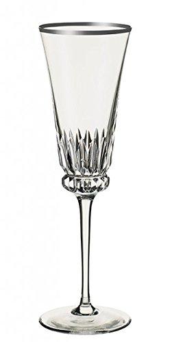 Villeroy & Boch Grand Royal Platinum Flûte à champagne, 230 ml, Cristal, Transparent