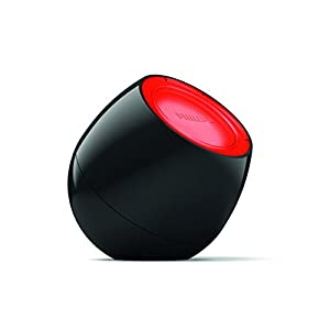 Philips LivingColors Soundlight - tragbare LED-Leuchte, automatischer Farbwechsel, integrierter Soundsensor, schwarz