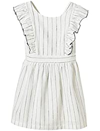 1554cad3dc0 Amazon.fr   robe tablier - Blanc   Vêtements