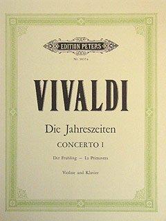 4 JAHRESZEITEN 1 FRUEHLING - arrangiert für Violine - Klavier [Noten / Sheetmusic] Komponist: VIVALDI ANTONIO