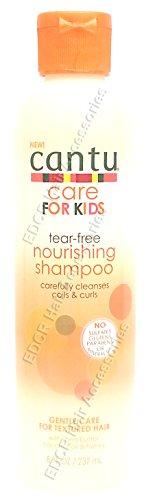 Neuf Cantu Care pour enfants sans Déchirement Shampooing nourrissant Soin Nettoie en bobine et boucles Gentle Care pour cheveux de texture 226,8 gram