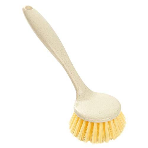 Beisoug Kitchen Antiadherente Skillet Brush Aceite Lavaplatos Limpieza Bowl Palm Brush