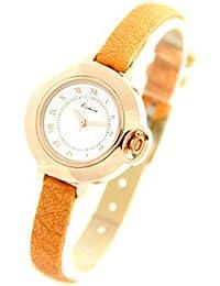 Eyki Femme MONTRE1320 - Reloj , correa de cuero color marrón
