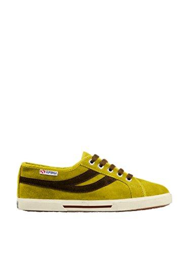 Sneakers - 2951-sueu - MineralYellow-Marron