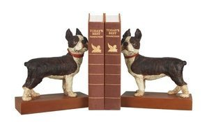 Sterling Industries 93-0797 Boston Terrier - Decorative Bookend, Red Finish by Sterling Industries