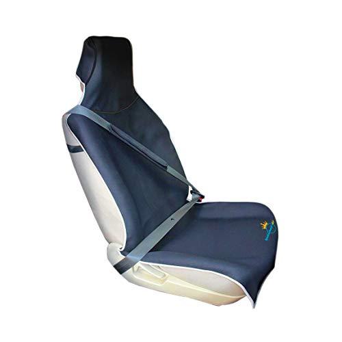 prene-Autositzschutz-Wasserdicht-Autositzbezug, Schweißschutz-Universalgröße-rutschfest-Haustierfreundlicher Auto Einzelsitzbezüg ()
