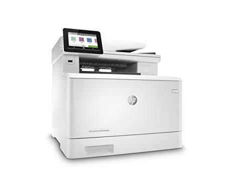 HP Color LaserJet Pro M479fdw Multifunktions-Farblaserdrucker (Drucker, Scanner, Kopierer, Fax, WLAN, LAN, Duplex, Airprint, 38 Seiten/Min) weiß