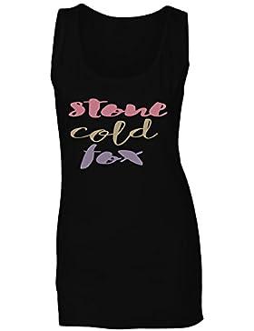 Piedra Frío Zorro camiseta sin mangas mujer n976ft