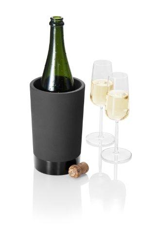 Magisso 70604 Flaschen- und Weinkühler in Keramik, hält das Getränk 4-6 Stunden natürlich abgekühlt durch Verdunstung, 12,7 x 12,7 x 20,9 cm - 12