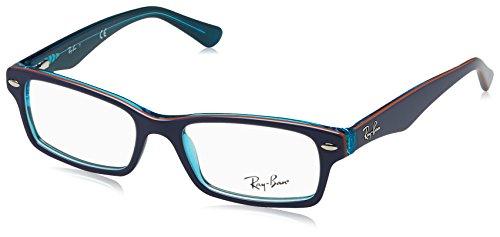 Ray-Ban Junior Jungen RY1530 Brillengestell, Blau (Blu), 48
