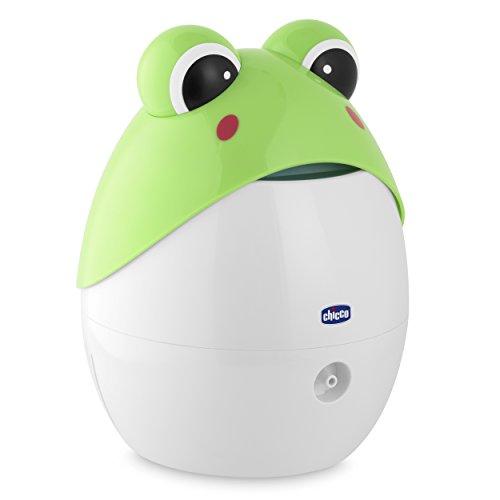 Chicco 00009067000000 apparecchio per aerosol super soft rana, 0m+, bianco/verde