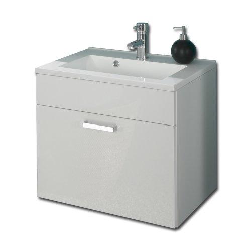 Posseik 5305 76 Waschplatz Malaga (Marano), weiß-hochglanz