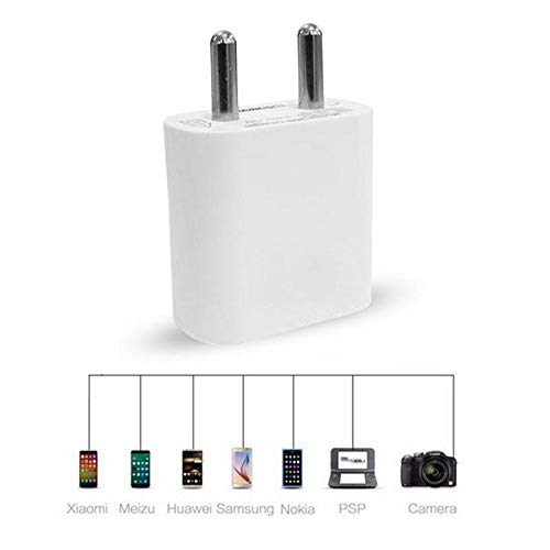 Lucant 2 Ampere Mobile Charger Adapter with Fast Charging USB Cable for Coolpad Note 3 (White) Image 2