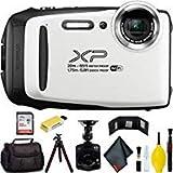 FUJIFILM FinePix XP130 Digital Camera (White) Master Bundle