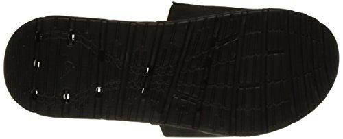 Quiksilver Herren Amphibian Slide Zehentrenner Multicolore (BLACK/BLACK/WHITE)