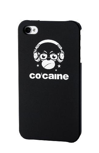 Co: caine Slap Pellicola protettiva per Apple iPhone 4/4S, scimmia nero