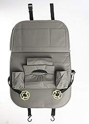 Car Organizer for Back Seat, Grey, F29-142
