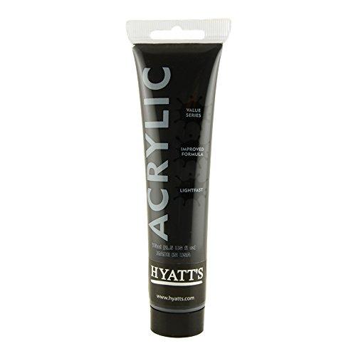 hyatts-acrylic-75ml-ivory-black