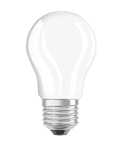 Osram LED Star Classic P Lampe, in Tropfenform mit E27-Sockel, nicht dimmbar, Ersetzt 40 Watt, Matt, Warmweiß - 2700 Kelvin, 1er-Pack -
