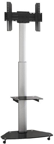 """MyWall HP1DL, 20 Jahre Garantie, Standfuß für Flachbildschirm 37"""" - 70"""" (94 - 178cm) bis 40Kg, silber VESA 200x200 - VESA 600x400"""