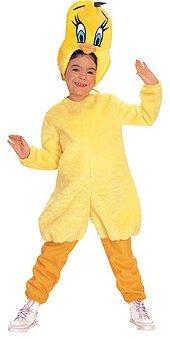 Uccello costume tweety, taglia 110/116