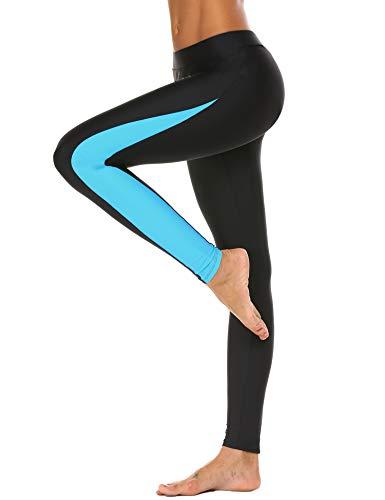 UNibelle Damen Badehose Tauchhose Sonnenschutz Wassersport Warm Schwimmenhose Surfing Leggings