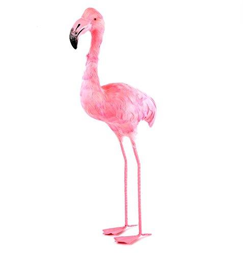 Flamenco-rosa-de-jardn-con-plumas-50-cm-Decoracin-emplumada-mesa-y-buffet-y-ms-Hecho-de-plumas-poliestireno-y-hierro