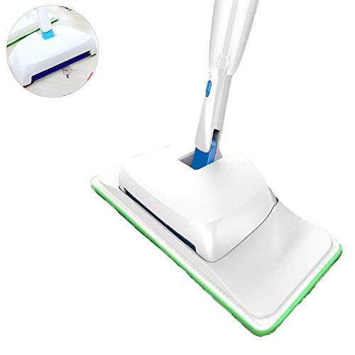 Holz-laminat Base (FengJ 3-in-1-Sprühmopp, rotierendes Wischen, frei von Handwäsche, ideal für die Reinigung von Hartholz-, Laminat-, Holz-, Nass- und Trockenfliesenböden)