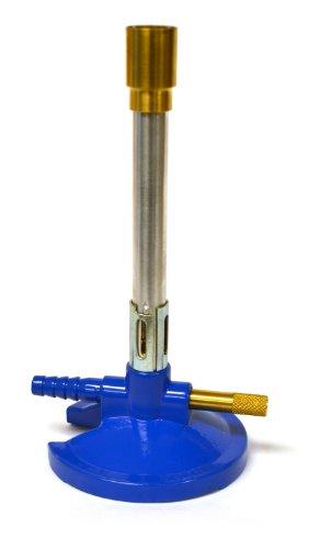 eisco Labs-Mechero Bunsen con estabilizador de llama y Gas ajuste