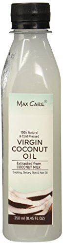 Max Care Cold Pressed Virgin Coconut Oil, 250ml