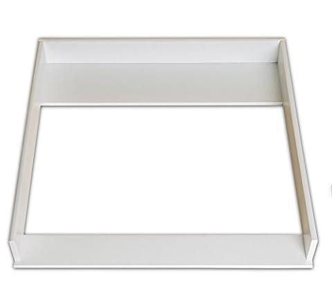 Plan à langer (blanc) pour Ikea Malm commode (SANS COMMODE)