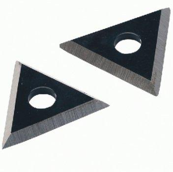 TRIUSO Dreieckhartmetallk linge 24mm, 2 Stück für F