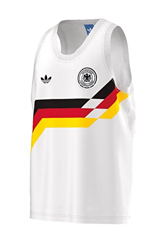 adidas Herren Germany Tanks Weiß