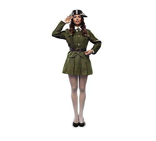 Imagen de disfraz de guardia civil para mujer. talla m l