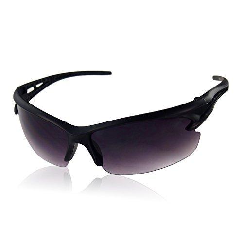 Lsv-8 der Männer polarisierte Sport Wrap Unisex Sonnenbrille UV400 grey2