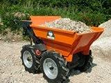 Minidumper BMD300, Rasenbereifung, normale Mulde, GXV160 Honda-Benzinmotor -