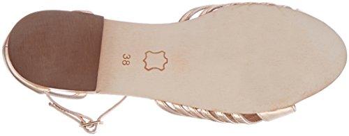 Petite Mendigote Damen Iraty Foil Knöchelriemchen Sandalen Pink (Powder Pow)