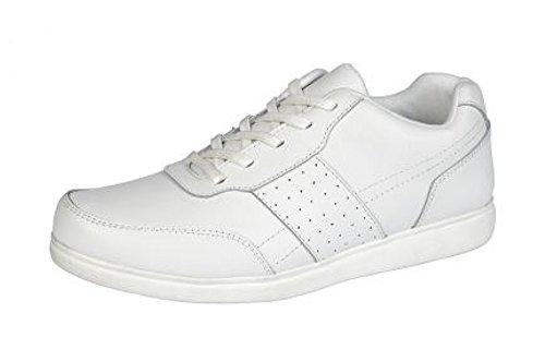 Dek , Herren Bowling- & Kegelschuhe, Weiß - weiß - Größe: 39 EU
