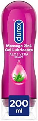 Durex Play Massage 2 en 1 Gel de Masaje & Lubricante Intimo con Aloe Vera 20