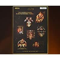 The Hunger Games Catching Fire Assorted Sticker Set (8 Pieces)